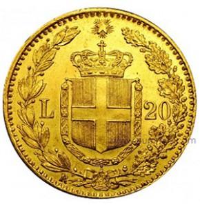 Marengo oro Umberto I