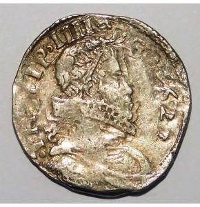 NAPOLI FILIPPO IV 4 TARI' 1623